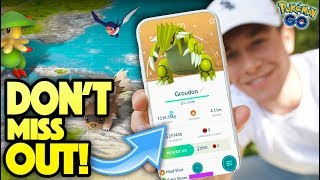 NEW HUGE EVENT! SHINY Groudon Coming to Pokémon GO? (New Hoenn Event)