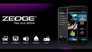 ZEDGE App for Android App Review (Video) (Ringtones) (Wallpapers)