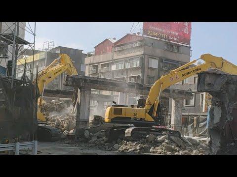 中正橋重慶南路高架拆除
