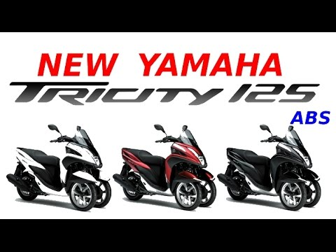 new yamaha tricity 125 abs presentation and test ride youtube. Black Bedroom Furniture Sets. Home Design Ideas