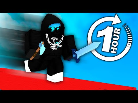 how many LEVELS can I get in 1 Hour.. (Roblox Bedwars)