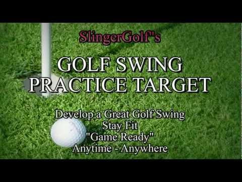 Velcro Golf Swing Practice Target – SlingerGolf