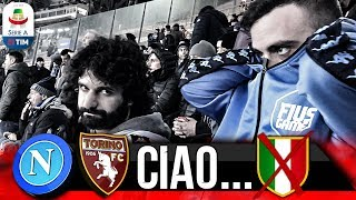 😔CIAO SCUDETTO... NAPOLI 0-0 TORINO | LIVE REACTION SAN PAOLO 4K