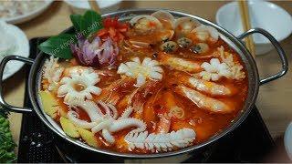 Cách nấu Lẩu Thái như thế nào mới đạt đúng chuẩn vị Lẩu Thái ngon
