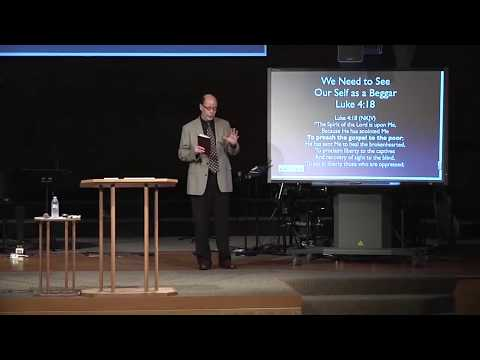 What is the connection between Jesus, the rich young ruler, materialism and heaven?