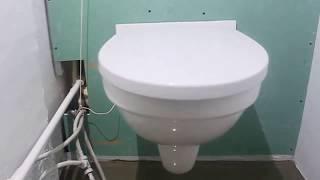 видео Набор инсталляция и унитаз