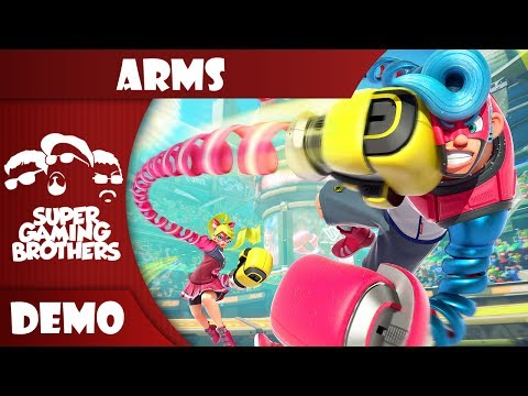 SGB Play: ARMS (Global Testpunch) | EY, NOODLE PEOPLE