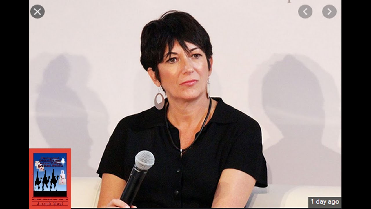 """Will Ghislaine Maxwell Commit """"Suicide""""? Playing Card Divination"""