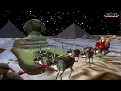 Follow NORAD as it tracks Santa's journey through the skies to a chimney near you.