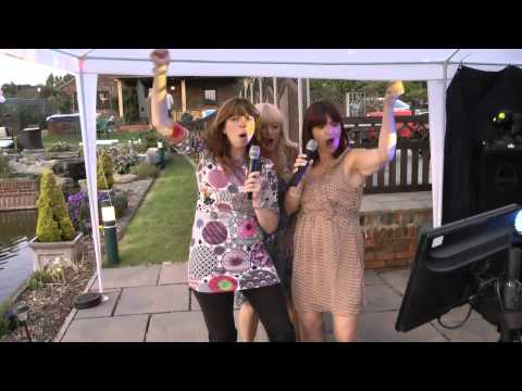 wiseaction charity garden party 1 karaoke