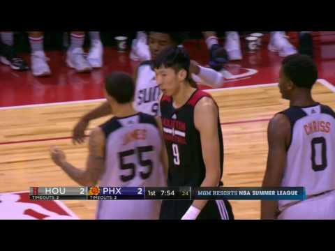 Zhou Qi FULL HIGHLIGHTS from 2017 NBA Summer League (ALL Games)