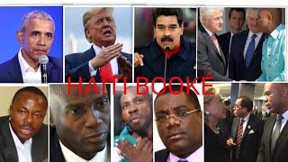 6 Août AVERTISSEMENT HAITI BlOKE OBAMA TRUMP VENEZUELA NEWS