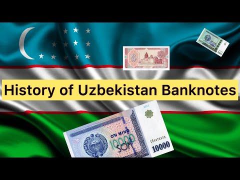 Post-Soviet Countries: Uzbekistan Banknotes