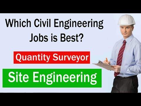Which One Job Is Best In Civil Engineering? Quantity Surveyor Or Site Engineering