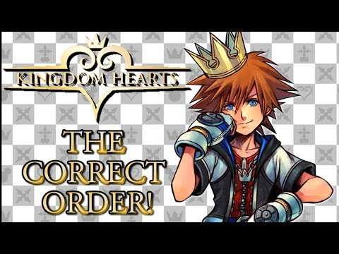 The Correct Order To Play The Kingdom Hearts Games!