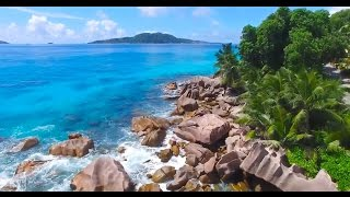 Mauritius and Seychelles with music in HD