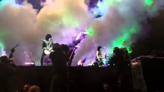 Kiss - Lick It Up - Pedreira Paulo Leminski - Curitiba - 21/4/2015