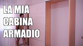 Ante Per Cabina Armadio Fai Da Te.Cabina Armadio Struttura E Ante Con Plako Silent Fai Da Te Youtube