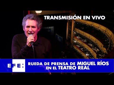 """Miguel Ríos  presenta """"Symphonic Ríos"""""""