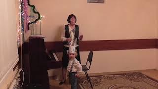 Открытое занятие. Обучение детей игре на фортепиано. 27.12.2017 # 3