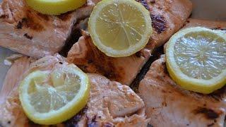 Filets de saumon à la plancha : recette facile
