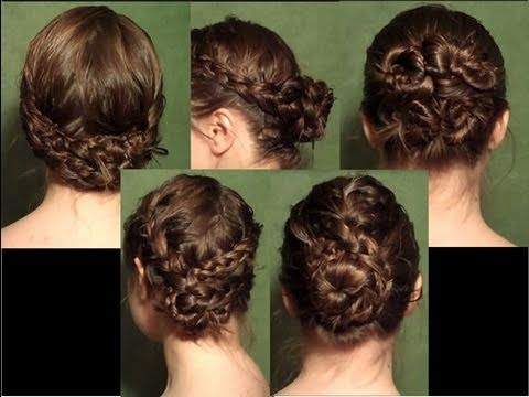 Hair Style Vedios : Styles for Wet Hair in Under 10 Minutes - YouTube
