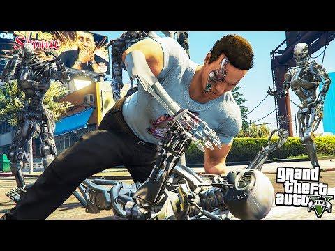 Grand Theft Auto 5 [Секс-видео] Геймплей Прохождение игры
