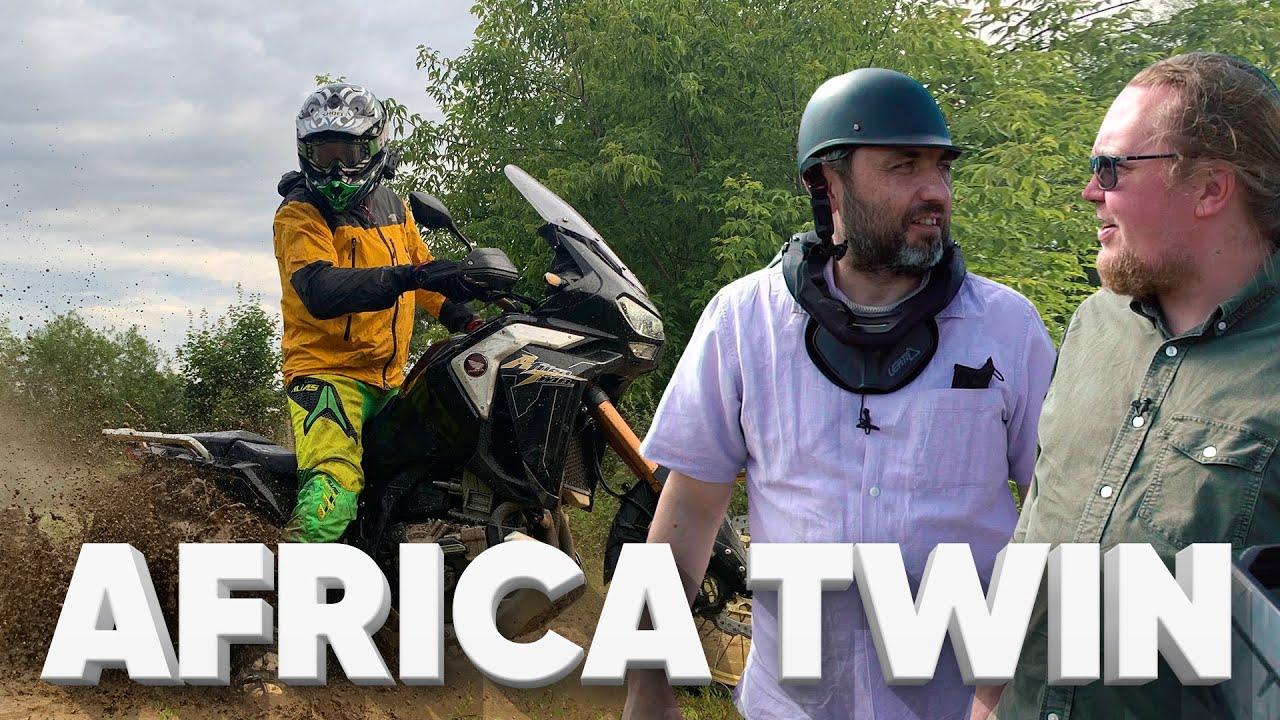 HONDA AFRICA TWIN ADVENTURE SPORTS - МОТОБТД