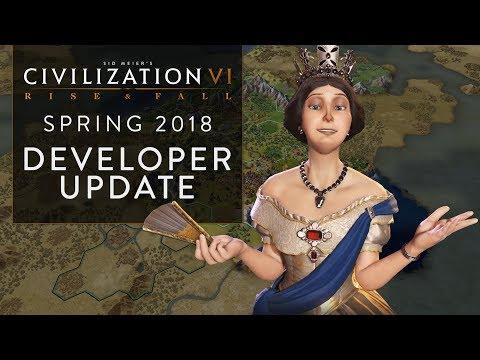 Civilization VI: Rise and Fall – Spring 2018 Developer Update