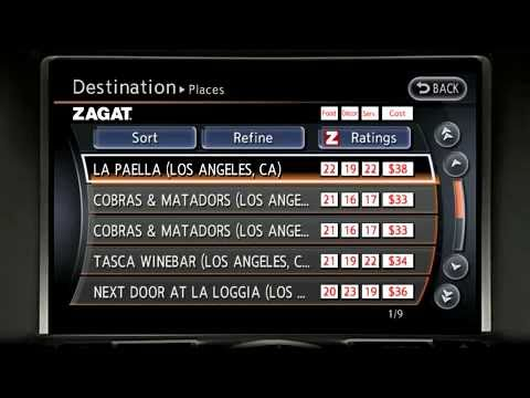 How to Use the Nissan Navigation System | Robbins Nissan