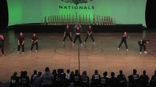 WCE Nationals 2019 Small Female Hip Hop Gold Diamond Bar