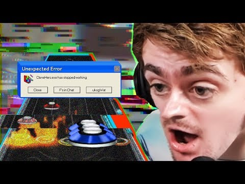 clonehero.exe HAS STOPPED WORKING (Cry for Eternity Out-take)