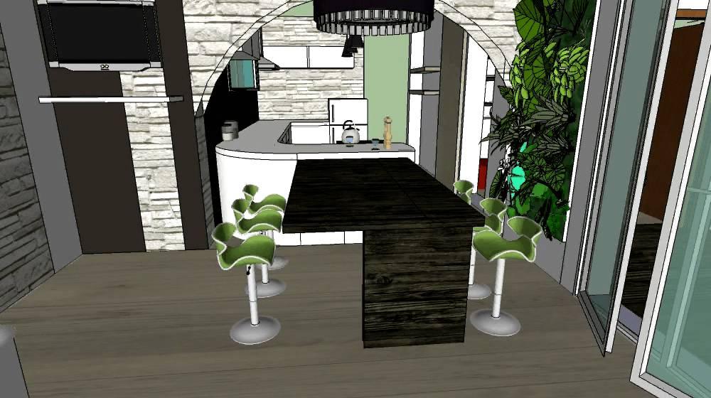 projet d 39 am nagement int rieur d 39 une villa en 3d youtube. Black Bedroom Furniture Sets. Home Design Ideas