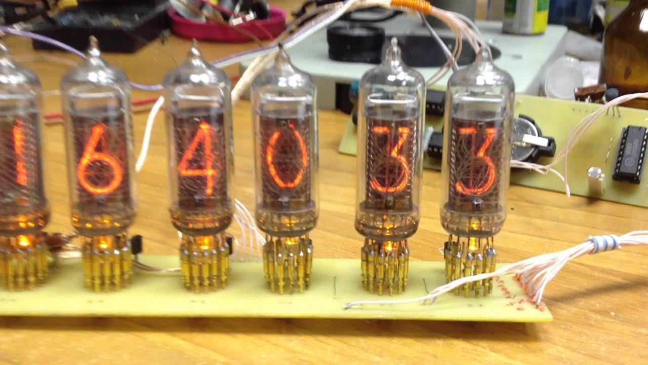 Sunny clock ин-14 схема