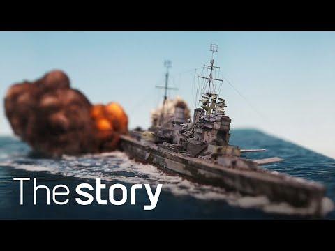 디오라마 장인의 '미친' 표현력! 잠수함(U-boat)이 폭발한다 : 함선 & 디오라마 제작, 이원희(ENG/KOR/JPN sub)