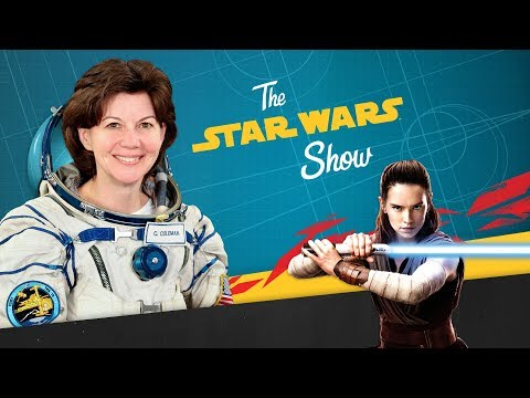 Download Youtube: Astronaut Cady Coleman, New 'Science and Star Wars' Sneak Peek, and Your Star Wars Show Fan Art!