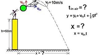 Physics - Mechanics: Projęctile Motion (2 of 4)