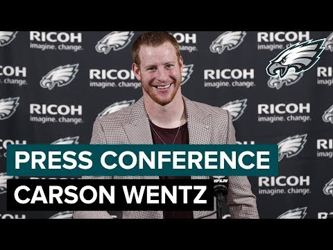 Carson Wentz: Win Over Giants Helps Teams Confidence | Eagles Press Conference