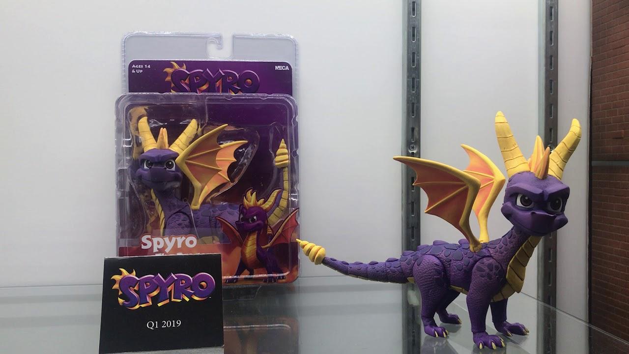 Toy Fair 2019 Crash Bandicoot And Spyro At Neca Youtube