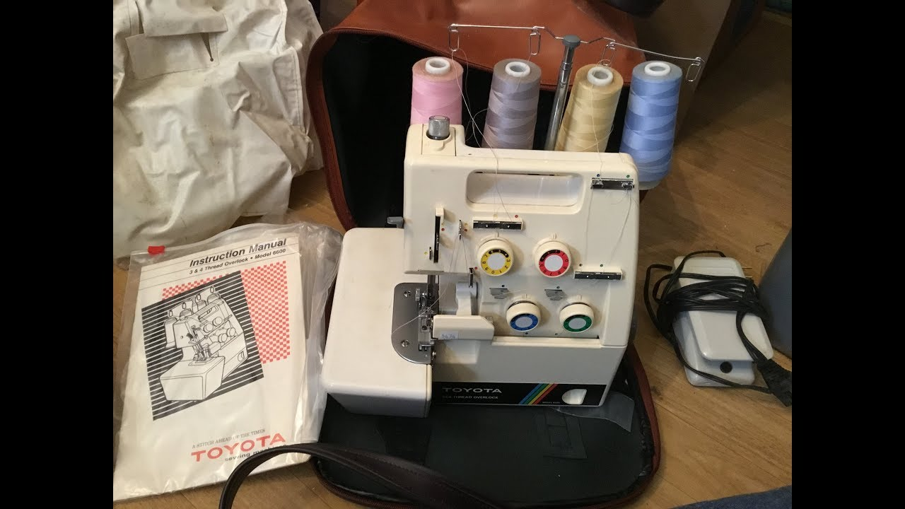 for Parts Toyota 3//4 Thread Overlock Sewing Machine Serger Model 6700