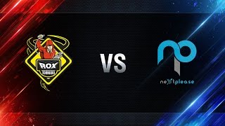 TORNADO.ROX vs NextPlease - day 3 week 4 Season I Gold Series WGL RU 2016/17