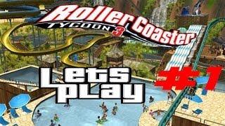 rollercoaster tycoon 3 sandbox mode 1 starting a new park