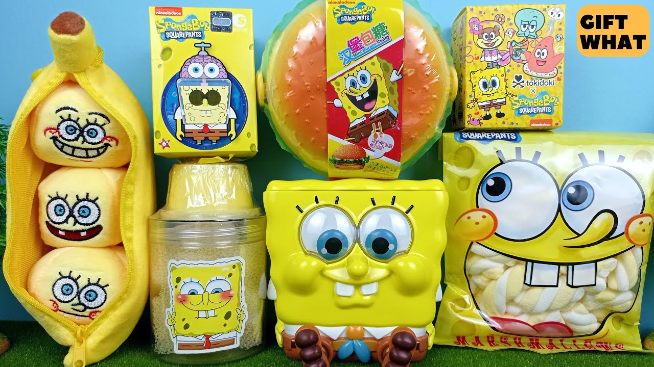 Amazing Spongebob Squarepants Complete Collection 【 GiftWhat 】