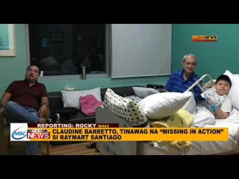 CLAUDINE BARRETTO, TINAWAG NA MISSING IN ACTION SI RAYMART SANTIAGO