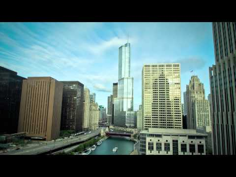 Chicago Lights - City Timelapse