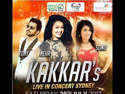 Neha Kakkar | NTS | Kakkar Family | Live Concert | Black Town LEISURE Center | Sydney Australia