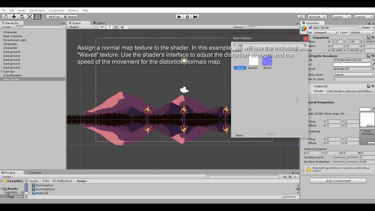 PIDI - 2D Reflections. Adding Reflections in under 1 minute