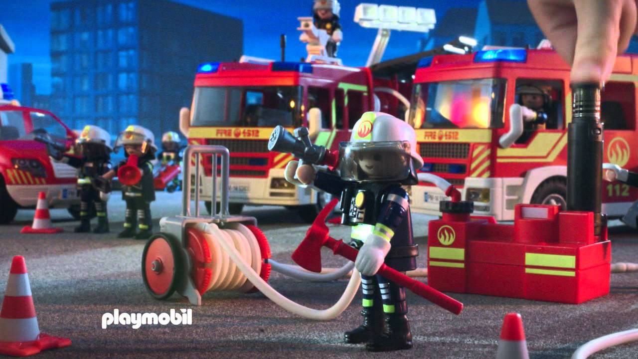 playmobil feuerwehr youtube. Black Bedroom Furniture Sets. Home Design Ideas