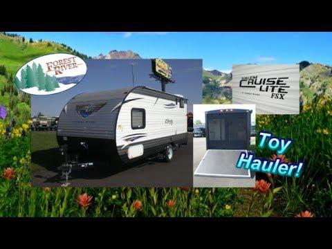 Unique NEW 2018 Salem Cruise Lite FSX 180RT Toy Hauler  Mount