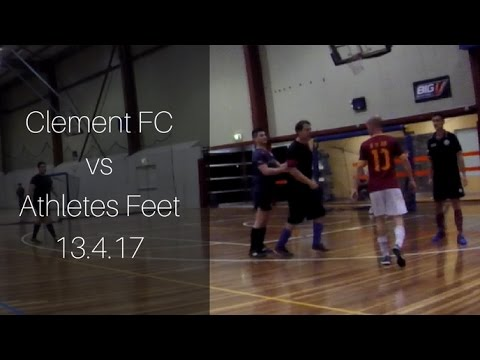 Clement FC vs Athletes Feet 13.4.17
